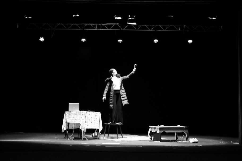attrice teatrale